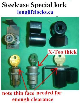 Steelcase Locks