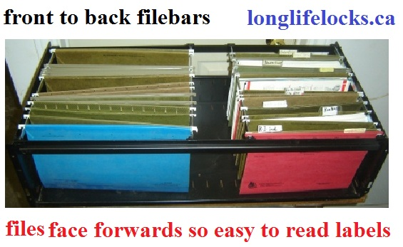 Filebars for fileing cabinets or file rails ,or hang rails
