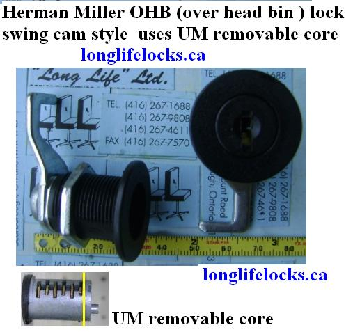 If you need a key for your lock just email us the key # on the front of the lock .  sc 1 st  Long Life Locks & Herman Miller Locks